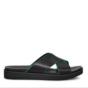 UGG Kari Slide Leather Sandal